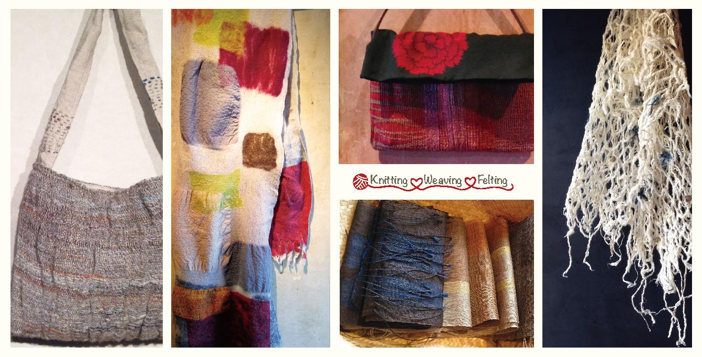 Knitting Weaving Felting 〜あたたかなハートで〜