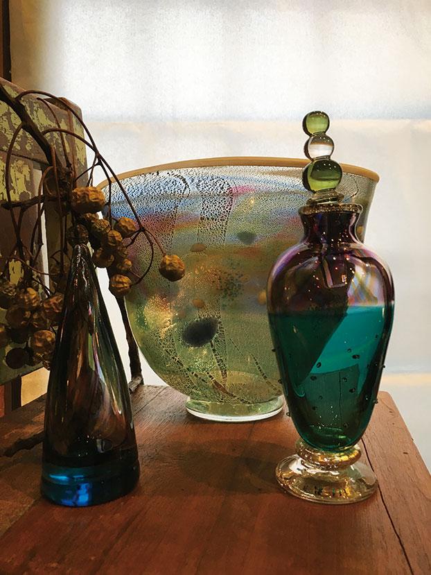 春を想う午後に 星野 環(吹きガラス)&渡辺 三重(陶)二人展