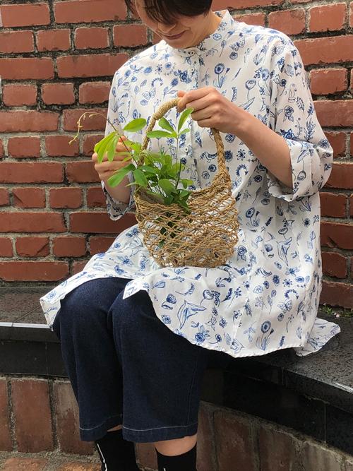 Cotton House Aya<br>初夏への服& マルシェかご